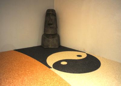 Ying & Yang granulat de marbre